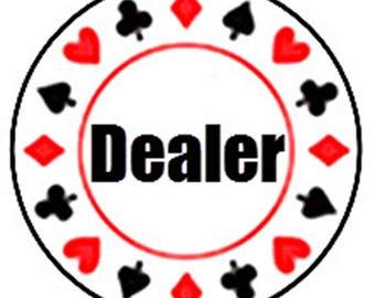 """2"""" Wooden Dealer Chip"""