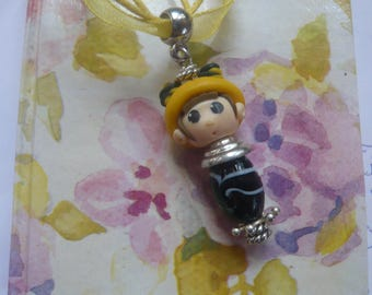 Japanese type - in the family of the cuties * zuzu * pendant necklace
