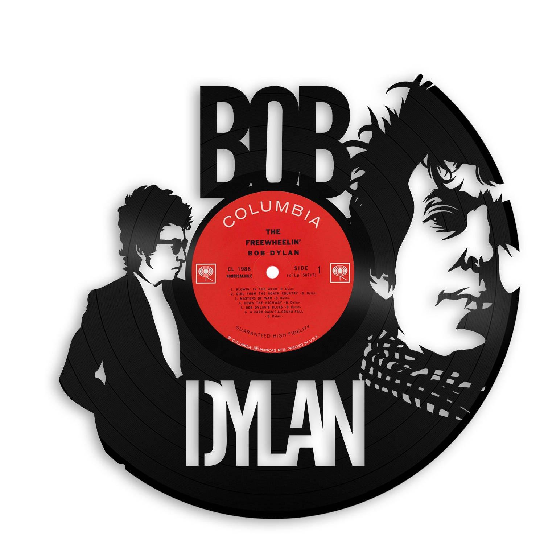 Bob Dylan Wall Art Original Vinyl Record Decor Unique Birthday Gift