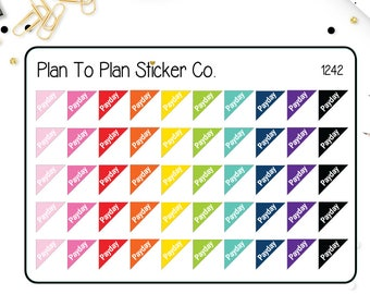 1242~~Payday Corner Planner Stickers.