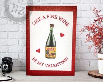 Buckfast Valentines card // Buckie valentine card // Scottish Valentine's card // Funny Tonic wine Valentines  card // Scottish