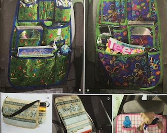 Simplicity 2916 Car Organizers Sewing Projects Craft DIY Organization Travel Personal Item Carriers