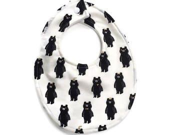 Bear Baby Bib and Burp Cloth Set, Baby Bear Bib, Baby Boy Bib, Baby Boy Gift, baby shower gift, baby shower gift set