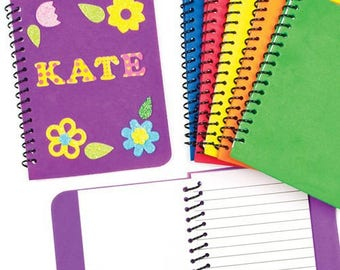 Foam notebook blank, 30 pages