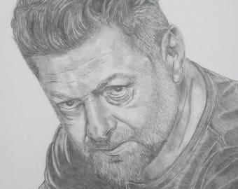 Andy Serkis Pencil [PRINT]