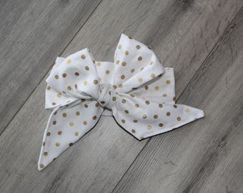Gold Dottie Headwrap