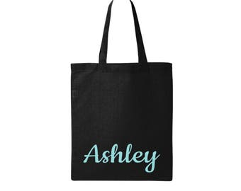 Personalized Bag - personalized gifts - Canvas Tote - Customizable - Weekender Bag - Travel Bag - Girls Weekend Gifts - Vacation Bags