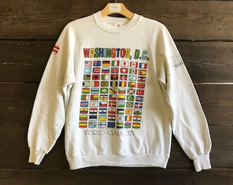 Vintage 90s Washington D.C. Sweatshirt