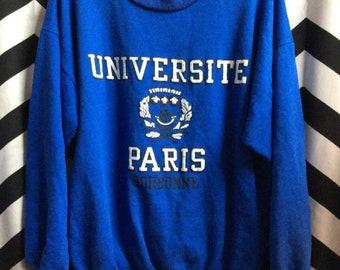 University Of Paris Pullover Sweatshirt