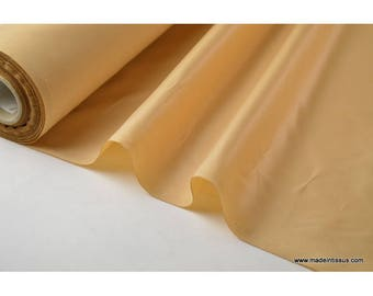 Fabric polyester water repellent for umbrella x50cm nougat