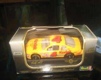 Revell 1997 Series Authentic Diecast Replica Yellow Kodak Car