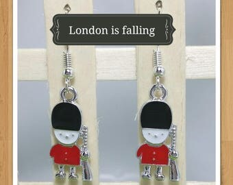 ENGLISH SOLDIER EARRINGS