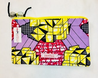 Purse - African - Thema Pouch -  Geometric