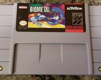 BioMetal English Reproduction Super Nintendo SNES