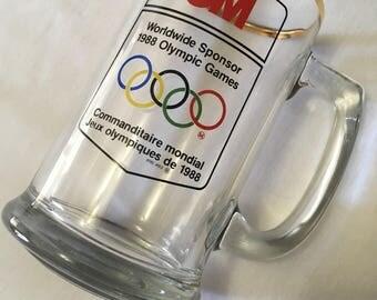 3M 1988 Olympics Calgary Mug