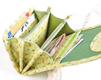 Womens Vegan Wallet Fabric Purse Vegan Purse Small Womens Wallet Fabric Wallet Women's Wallet Small Women Purse Boho Wallet Mini Wallet