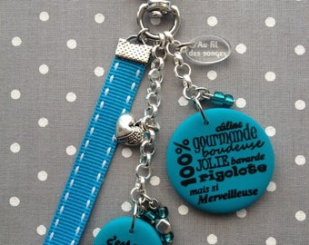 """Godmother"" keychain or bag charm"