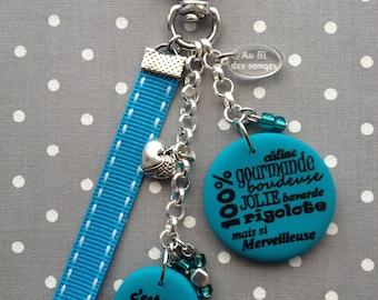 """Godmother"" keychain or bag charm"