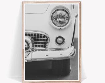 Car Print,Retro Car Print,Car Poster,Car Wall Art,Vintage Poster,Vintage Car Print,Retro Car Poster,Gift For Him,Boys Room,Car Art,Retro Car