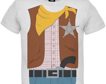 Halloween Cowboy Costume Toddler T-Shirt