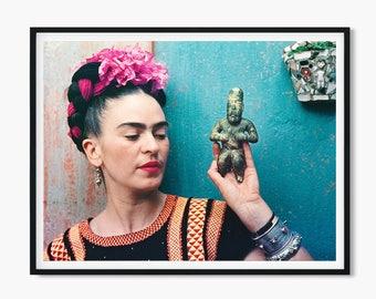 Frida Kahlo Print • Frida Kahlo Poster Scandinavian Print Frida kahlo artwork Frida Kahlo Wall Art Frida Art Deco Mexican Decor Mexican Art