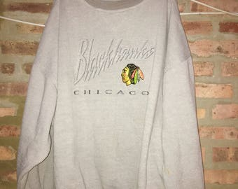 Vintage Chicago Blackhawks Sweater