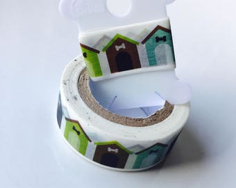 Dog House Washi Tape Sample - invites, birthday party, charity