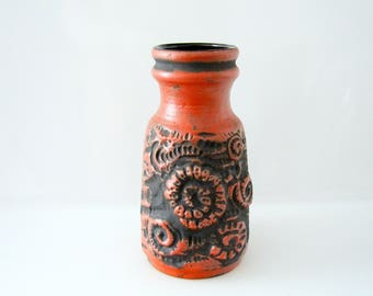 Great Vase by Carstens Fat Lava - West German Pottery WGP 7492-25