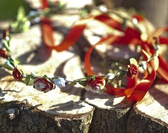 "Wreath pattern ""Strawberry Vanilla"""