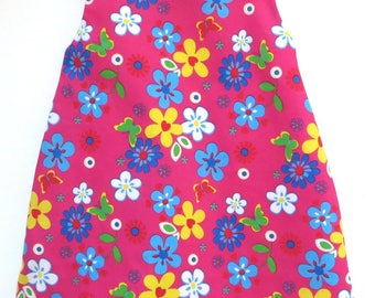 girl's dress cotton flowers