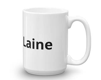 Laura's Laine Mug made in the USA