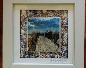 Mixed Media Photograph - Pathway to Rehoboth Beach, DE