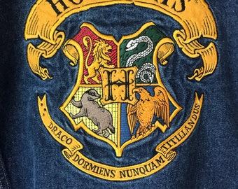 Harry Potter Hogwarts Denim Jacket