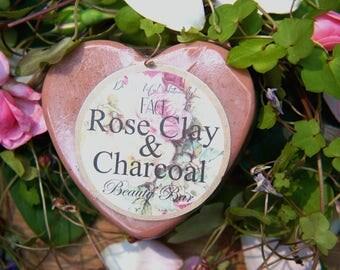 Rose Clay & Charcoal Facial Beauty Bar