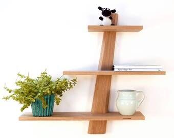 "Shelves in untreated oak, Modern Danish Design ""Amagerhylde"""