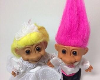 Vintage Russ Troll Dolls ,troll russ,troll doll collectible,Troll doll,Vintage Toys, 1980s