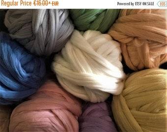 SALE CHUNKY YARN, giant yarn, chunky knit blanket, chunky wool, chunky merino yarn giant knit yarn, Mother's gift, merino wool yarn, chunky