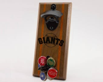 San Francisco Giants Magnetic Bottle Opener