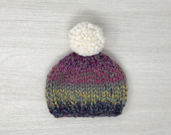 Baby winter knit hat