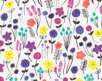 Wild Flowers Dribble Bib