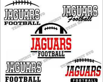 Jaguars Football Bundle Download Files - SVG, DXF, EPS, Silhouette Studio, Vinyl  Files, Digital Cut Files -Use with Cricut and Silhouette