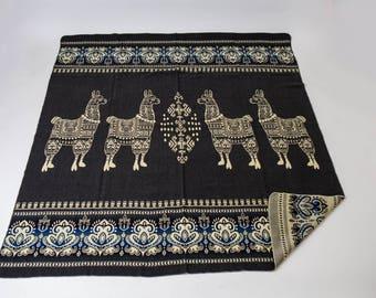 Alpaca Wool Reversible Blanket