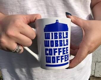 Dr who inspired Coffee Mug