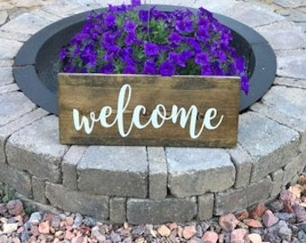 Welcome Sign, Welcome Wedding Sign, Welcome Wood Sign, Welcome Sign Wedding, Welcome Sign for Front Door, Front Door Welcome Sign, Welcome