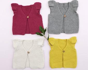 Hand Knitted Bellamy Vest