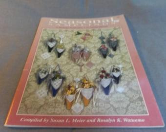 Seasonal Samplings In Hardanger Embroidery Introducing Bead Flotation Technique, Carolyn Mitchell 1996