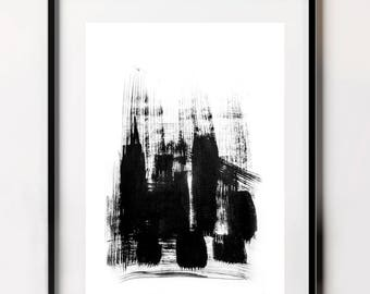 Instant Download Art, Download Print, Abstract City Scape, Contemporary Prints, Abstract Fine Art Print, Minimal Design