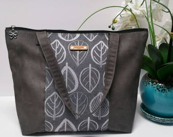 Free shipping! (U.S. only) POUCH'eM HAWAII Zippered Suede Tote bag