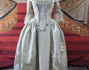 Georgian Rococo Marie Antoinette ballgown Ladies small