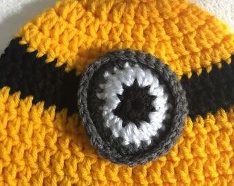 Child minion beanie minon hat